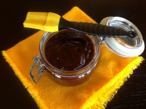 A Spicy yet Tangy & Sweet twist on BBQ sauce made with roasted Strawberries.