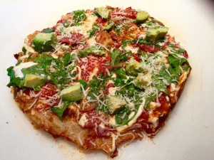 20 minute Stovetop Pizza